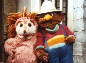 Espinete y Don Pimpón, entrañables personajes de 'Barrio Sésamo'.