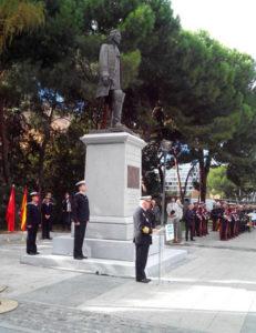 Discurso del almirante jefe del Estado Mayor de la Armada. / Foto: Armada Española.