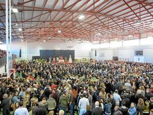 Multitudinario entierro en Bullas. / Foto: Europa Press.