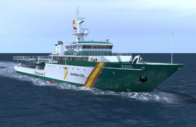 Intervenidas más de 18 toneladas de hachís en el abordaje de un pesquero a 30 millas del Cabo de Gata