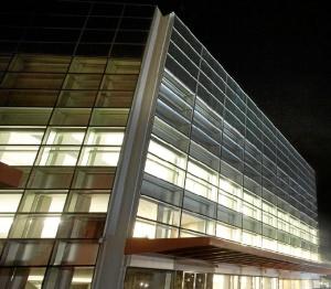 Fachada del Museo de la Evolución Humana. / Foto: www.museoevolucionhumana.com