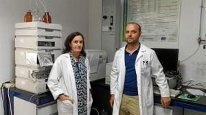 Los investigadores extremeños que llevan a cabo el estudio. / Foto:  UEX