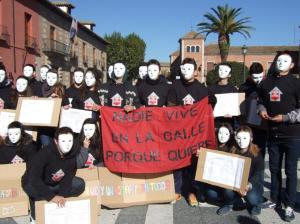 Flashmov de la campaña 'Nadie Sin Hogar'. / http://noticiasasidonia.blogspot.com.es