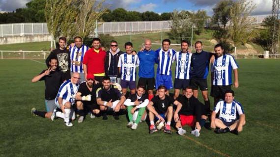 El actor Javier Mora organiza su tradicional partido de fútbol con compañeros de profesión en Madrid