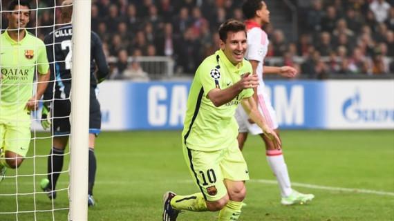 El Barcelona pasa a cuartos de la Champions
