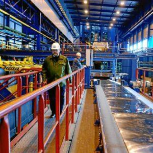 La industria obtiene buenos resultados en octubre. / Foto: www.arcelor.com