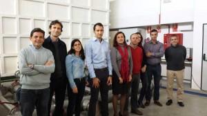 Equipo de investigación de la Universidad de Córdoba que lleva a cabo el proyecto.