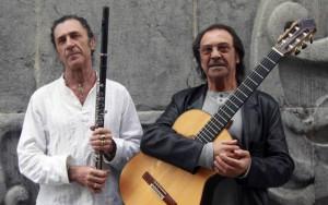 Jorge Pardo y Pepe Habichuela. / http://jorgepardo.com