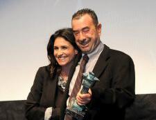 José Luis Garci recibe el Premio 'Ciudad de Huelva' en el Festival de Cine Iberoamericano