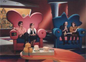 Cerdà comenzó en la tele en el programa 'Juego de niños'. / Foto: www.vayatele.com
