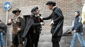 Ruta teatralizada 'Letras y espadas'. / http://www.icorso.com