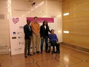 Los luchadores que participarán en la iniciativa 'Lo que de verdad importa'. / Foto: Europa Press.