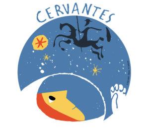 Logo de la Misión Cervantes. / http://www.esa.int