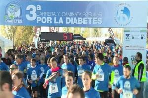 Carrera solidaria por la diabetes en Madrid. / Foto: Europa Press.