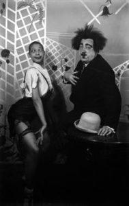 Paul Poiret y Josephine Baker en el baile de las catherinettes el 25 de noviembre de 1925. / http://www.pinterest.com