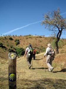 Peregrinos en el Camino Mozárabe. / http://desnivel.com