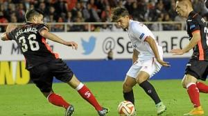 Un instante del partido. / Foto: www.sevillafc.es
