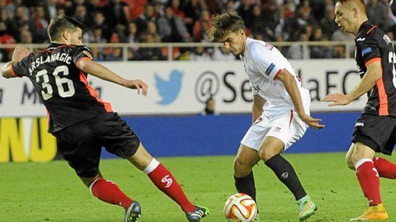El Sevilla se impone al Standard
