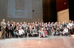Entrega de premios del festival de cine de Zaragoza