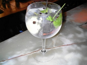 Bebidas refrescantes.