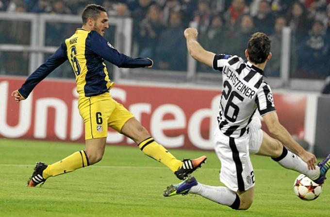 El Atlético de Madrid empata ante la Juventus y garantiza el primer puesto en el cierre de la fase de grupos