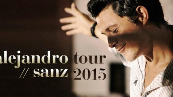 Comienza la venta de entradas del nuevo tour de Alejandro Sanz