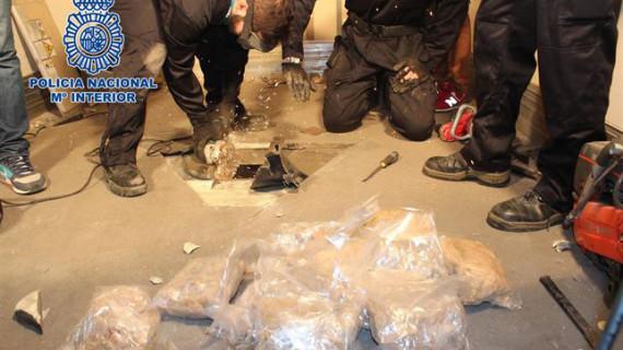 La Policía Nacional se incauta en Madrid del mayor alijo de la droga MDMA hallado en España