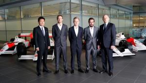 Presentación de los nuevos pilotos de Mclaren. / Foto: es.mclaren.com