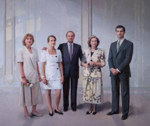 'La Familia de Juan Carlos I', de Antonio López.