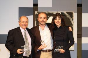 Menor, en el centro, ha logrado ya tres premios internacionales con 'WildMed'.