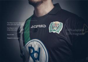 La camiseta incorpora una cámara que el deportista no nota. / Foto: www.firstv1sion.com