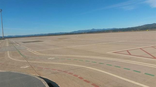 El nuevo aeropuerto de Castellón. / Foto: Europa Press.
