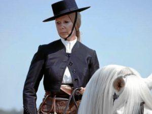 La recientemente fallecida Cayetana de Alba lucía habitualmente el sombrero cordobés.