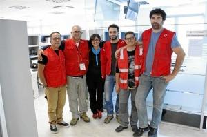 Un equipo de Emergencias Cruz Roja Española.