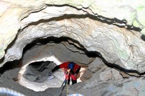Cueva de Los Chorros en Riópar (Albacete). / http://clubabismo.es