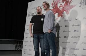Juanfer Andrés y Esteban Roel. / Foto: www.estebanroel.co