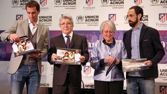 La Fundación Atlético de Madrid colabora con Acnur para escolarizar a niños refugiados
