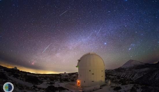 Las Gemínidas volverán este mes de diciembre a ser la lluvia de estrellas más activa del año