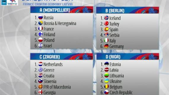 España se medirá con Alemania, Serbia, Turquía, Italia e Islandia en el Eurobasket 2015