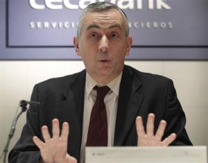 El director general de Funcas, Carlos Ocaña. / Foto: Europa Press.