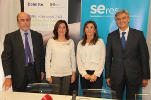 Presentación del informe. / Foto: Fundación Feres.
