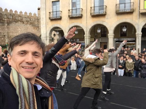 José Mota despedirá el año bailando junto a 400 abulenses