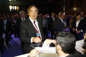 El presidente de CEOE, Juan Rosell. / Foto: Europa Press.
