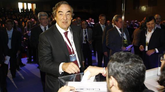 Juan Rosell, reelegido presidente de la CEOE