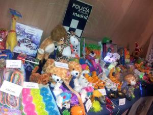 Algunos de los juguetes retirados.