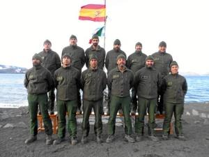Miembros de la XXVII Campaña de la base Gabriel de Castilla. / http://www.ejercito.mde.es