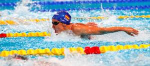 La nadadora Mireia Belmonte. / Foto: www.rfen.es.