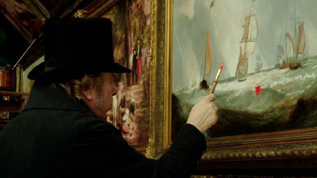 Una escena de Mr Turner.