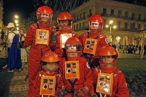 Disfraces en Nochevieja en Pamplona. / http://www.pamplonamegusta.com
