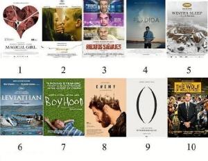 Mejores películas del año